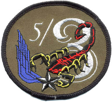 Patch APS type 2 de la 5e EHA du 3e RHC