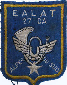 Patch EALAT 27e DA, escadrille Alpes du Sud Alat.fr