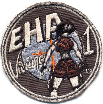 Patch 1ère EHA 6e RHC KFOR Mandat n° 10, version n° 1, Alat.fr