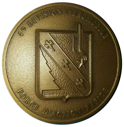Médaille 4e DAM/FAR de 72 mm, avers, Alat.fr